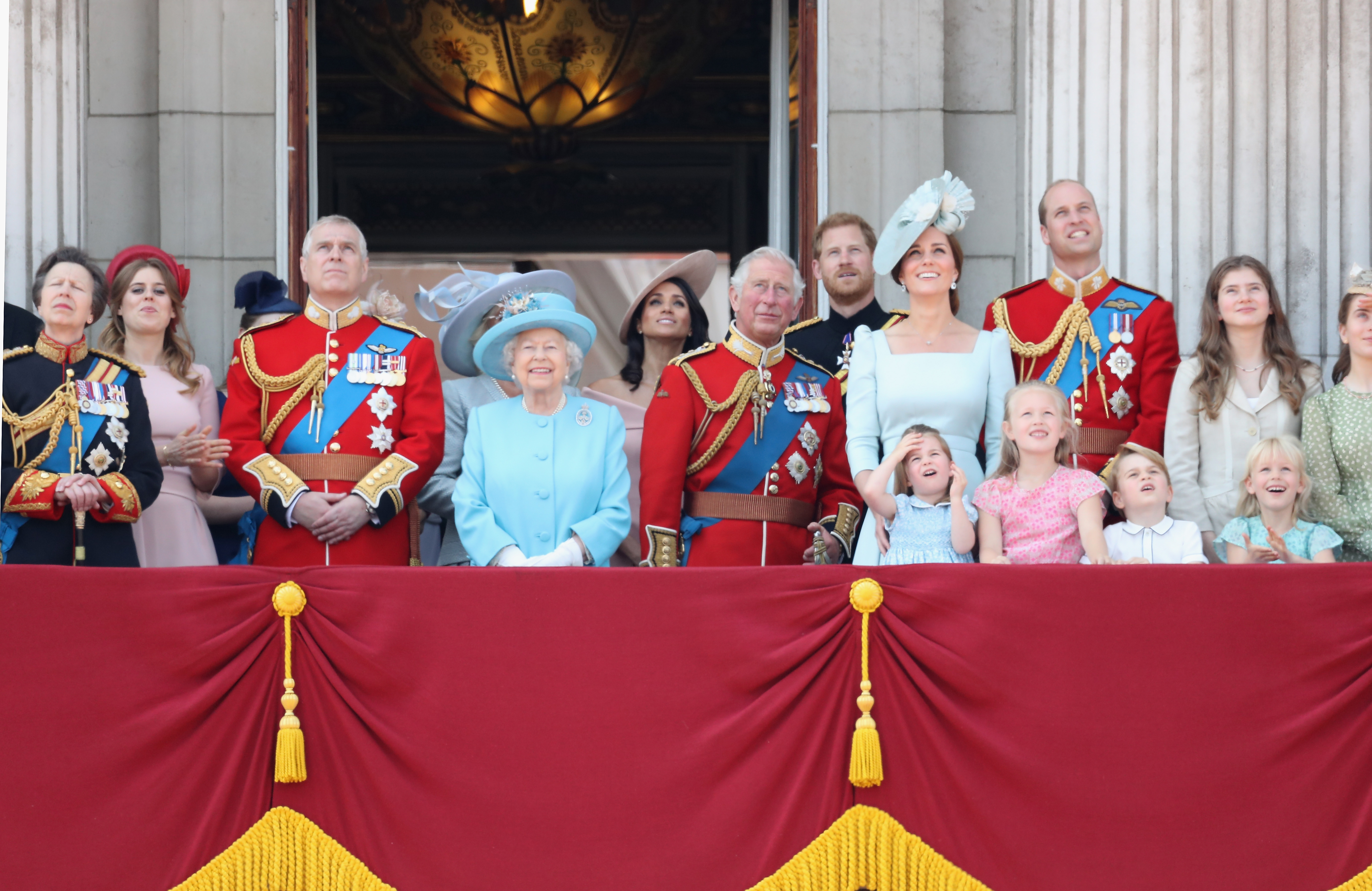 The British Royal family (Source: Getty Images)