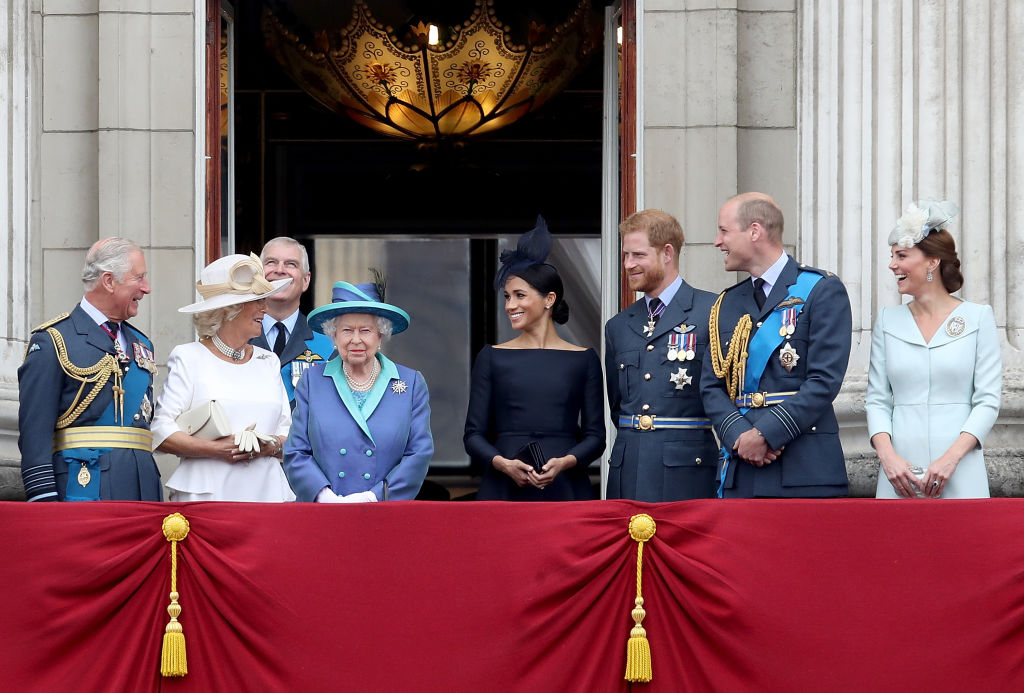 Thomas believes Meghan is terrified of her new role in the royal family (Photo by Chris Jackson/Chris Jackson/Getty Images)
