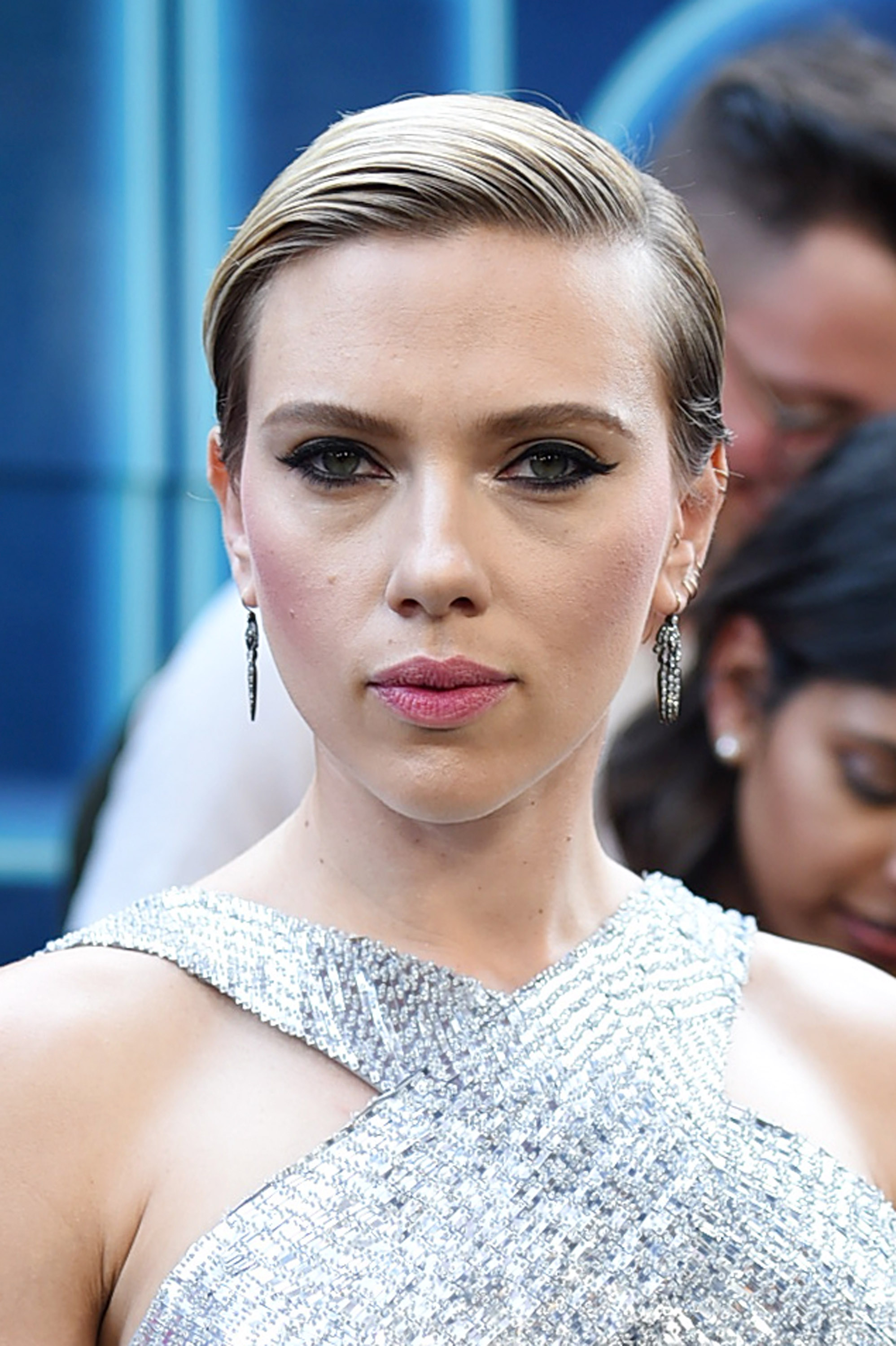 Scarlett Johansson attends the 'Rough Night' premeire at AMC Loews Lincoln Square on June 12, 2017 in New York City.