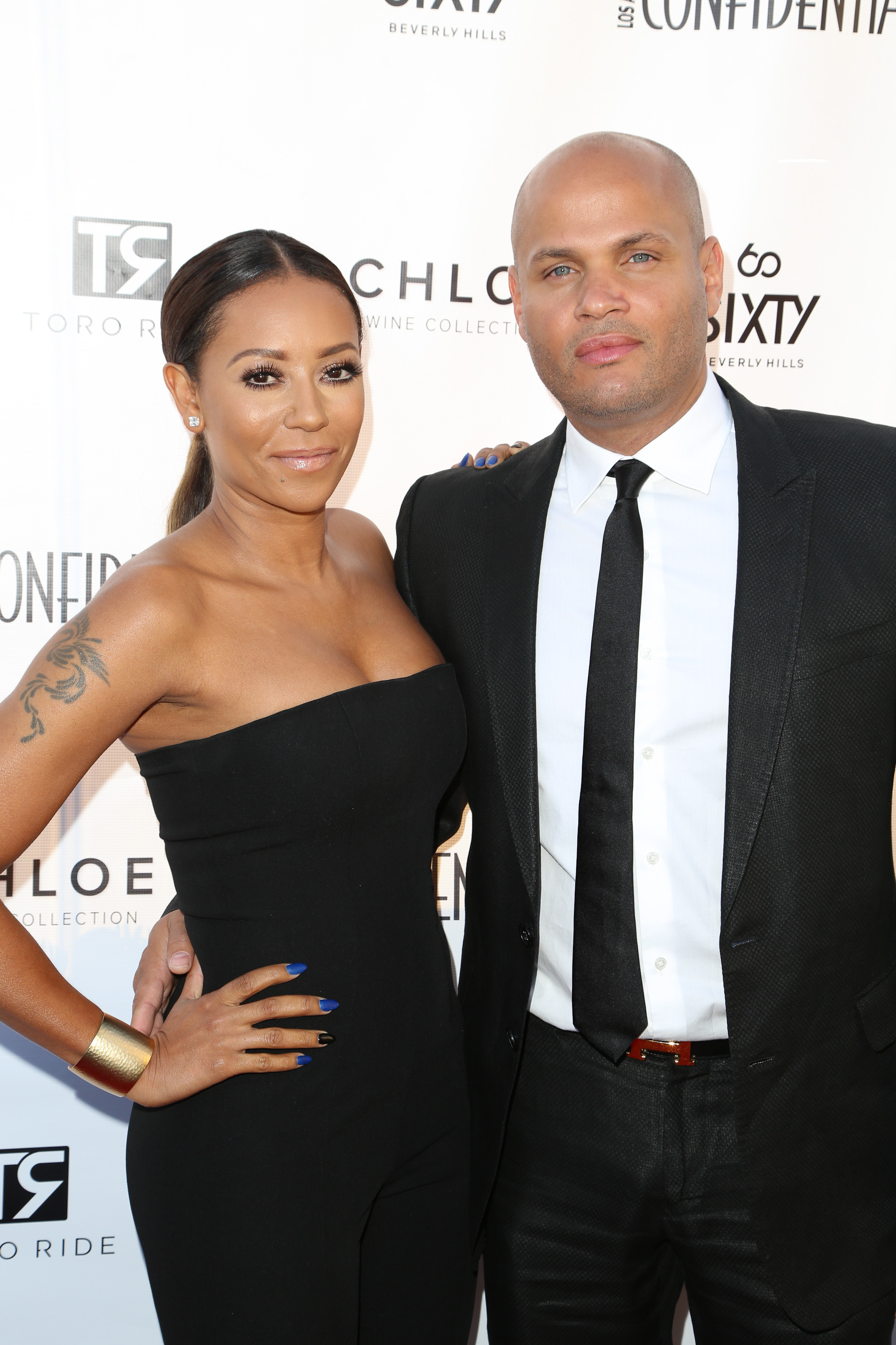 Mel B and Stephen Belafonte (Source: Getty Images)