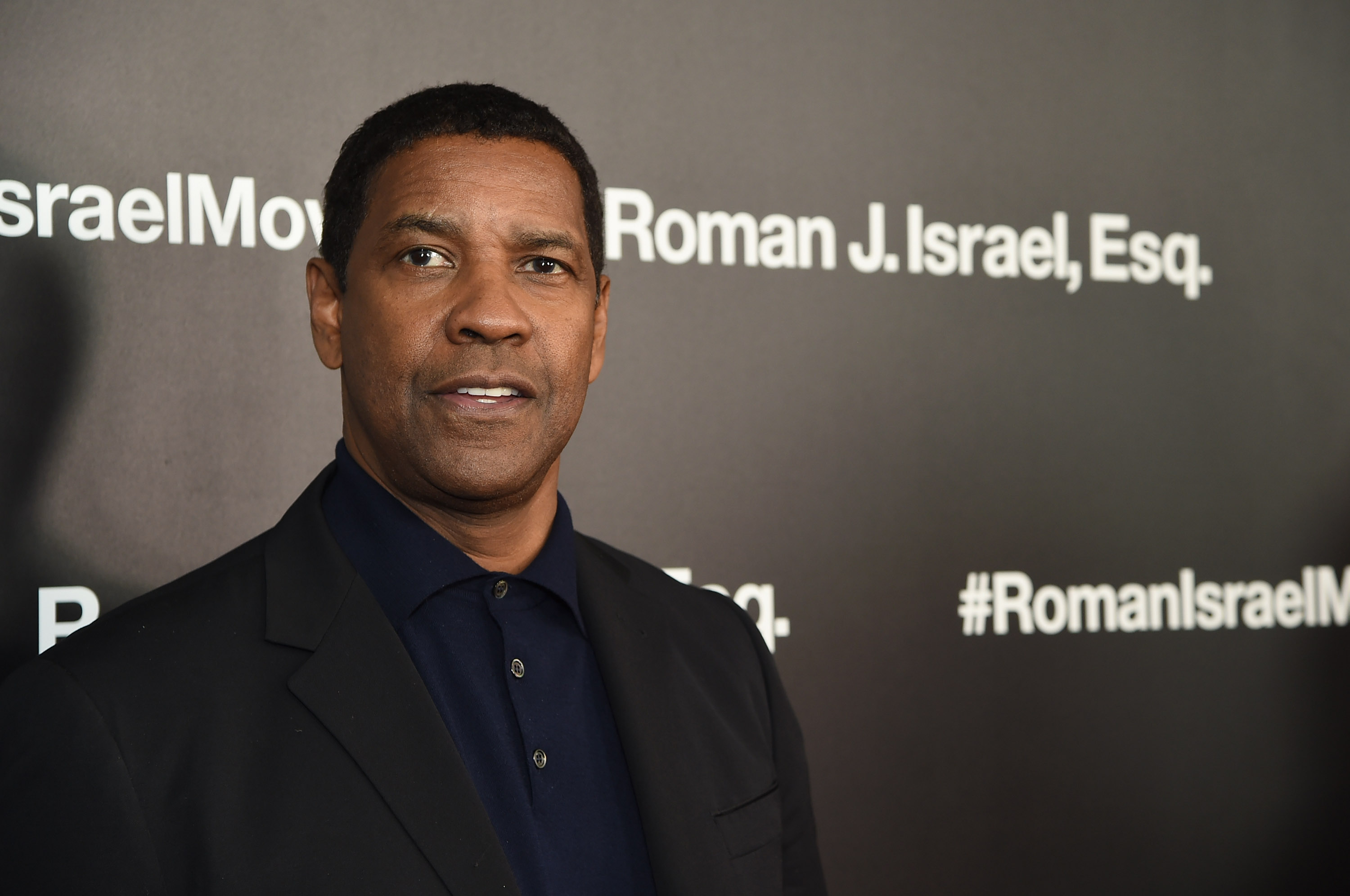 Denzel Washington attends the screening of Roman J. Israel, Esq. at Henry R. Luce Auditorium at Brookfield Place on November 20, 2017 in New York City. (Getty Images)