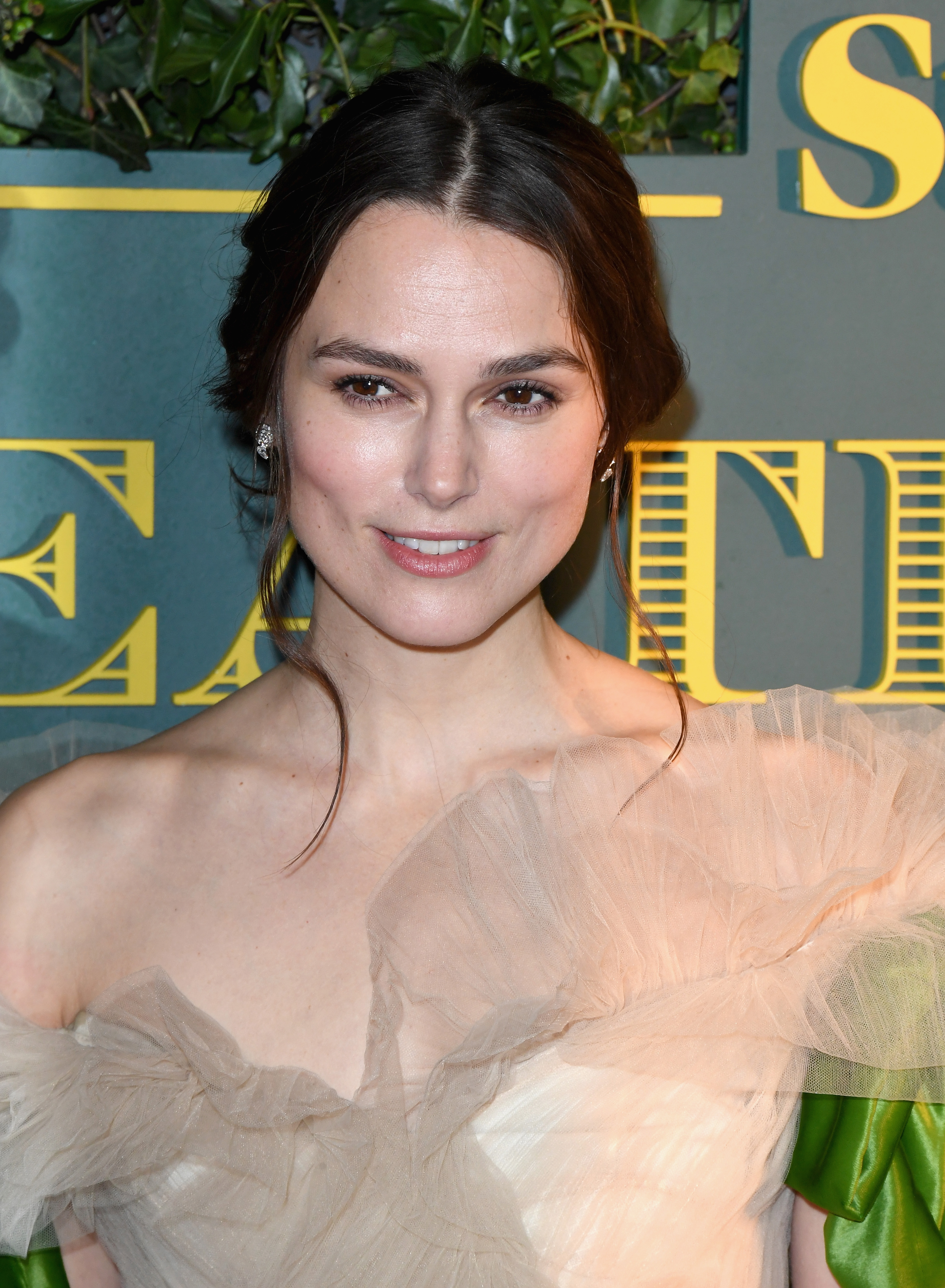 Keira Knightley attends the London Evening Standard Theatre Awards at the Theatre Royal on December 3, 2017 in London, England.