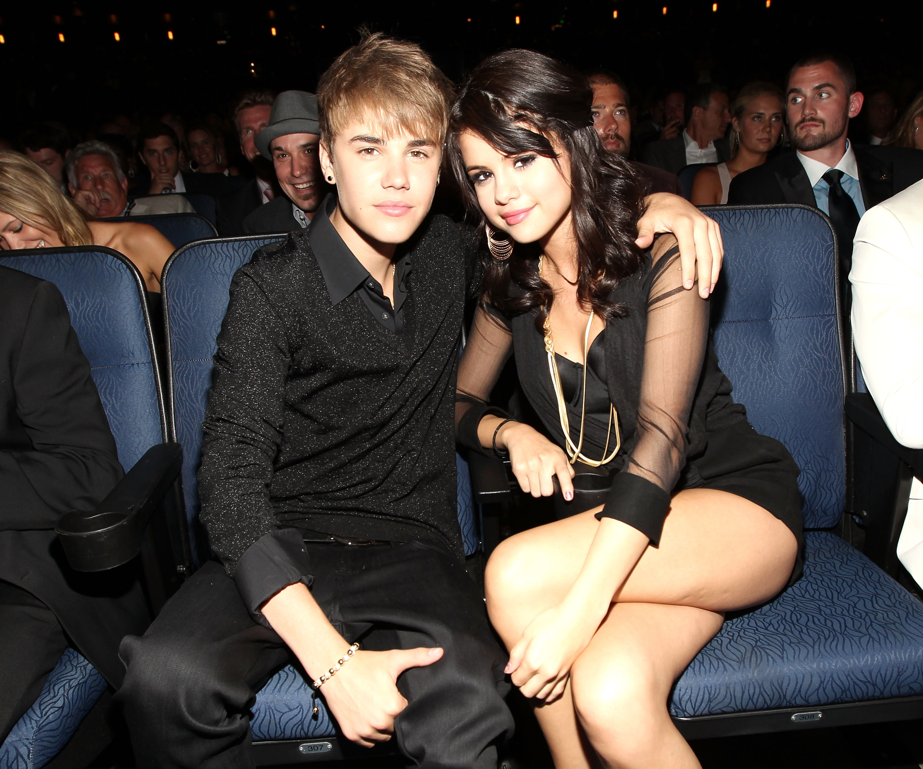 Singers Justin Bieber and Selena Gomez attend The 2011 ESPY Awards at Nokia Theatre L.A. Live on July 13, 2011 in Los Angeles, California.