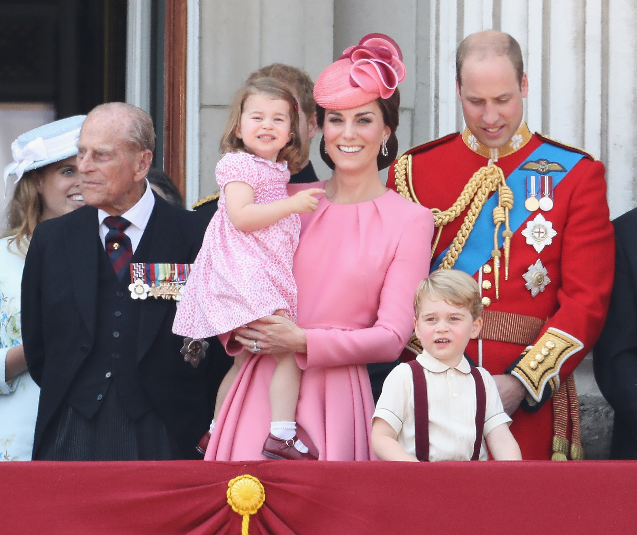 Princess Charlotte and Kate Middleton (Source: Getty Images)