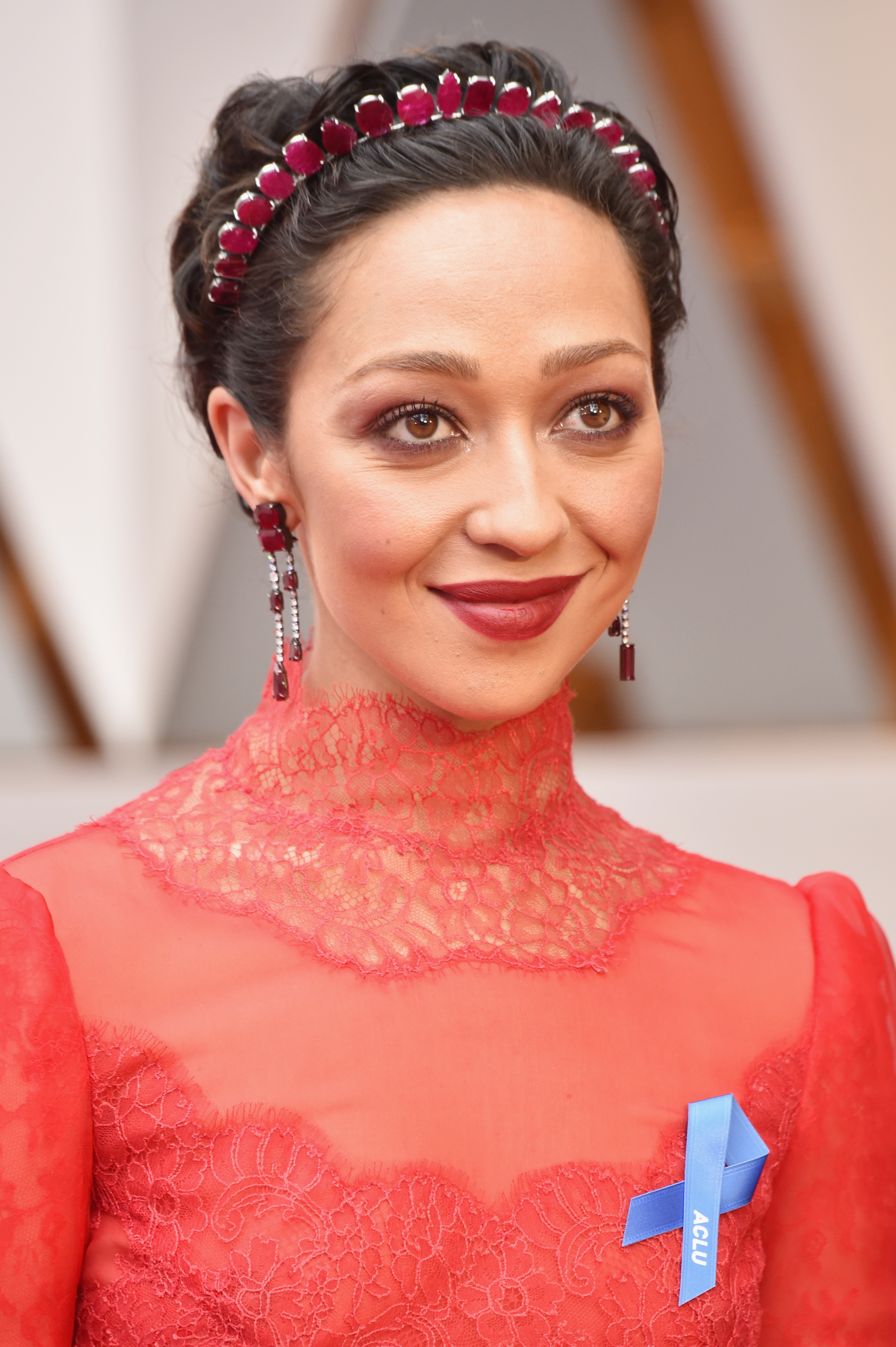 Actor Ruth Negga attends the 89th Annual Academy Awards at Hollywood & Highland Center on February 26, 2017 in Hollywood, California.
