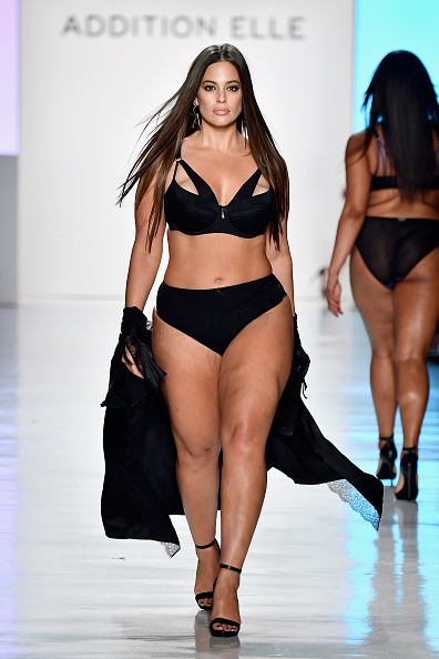 The body positive icon believes that beauty cannot be determined by size. (Getty Images)