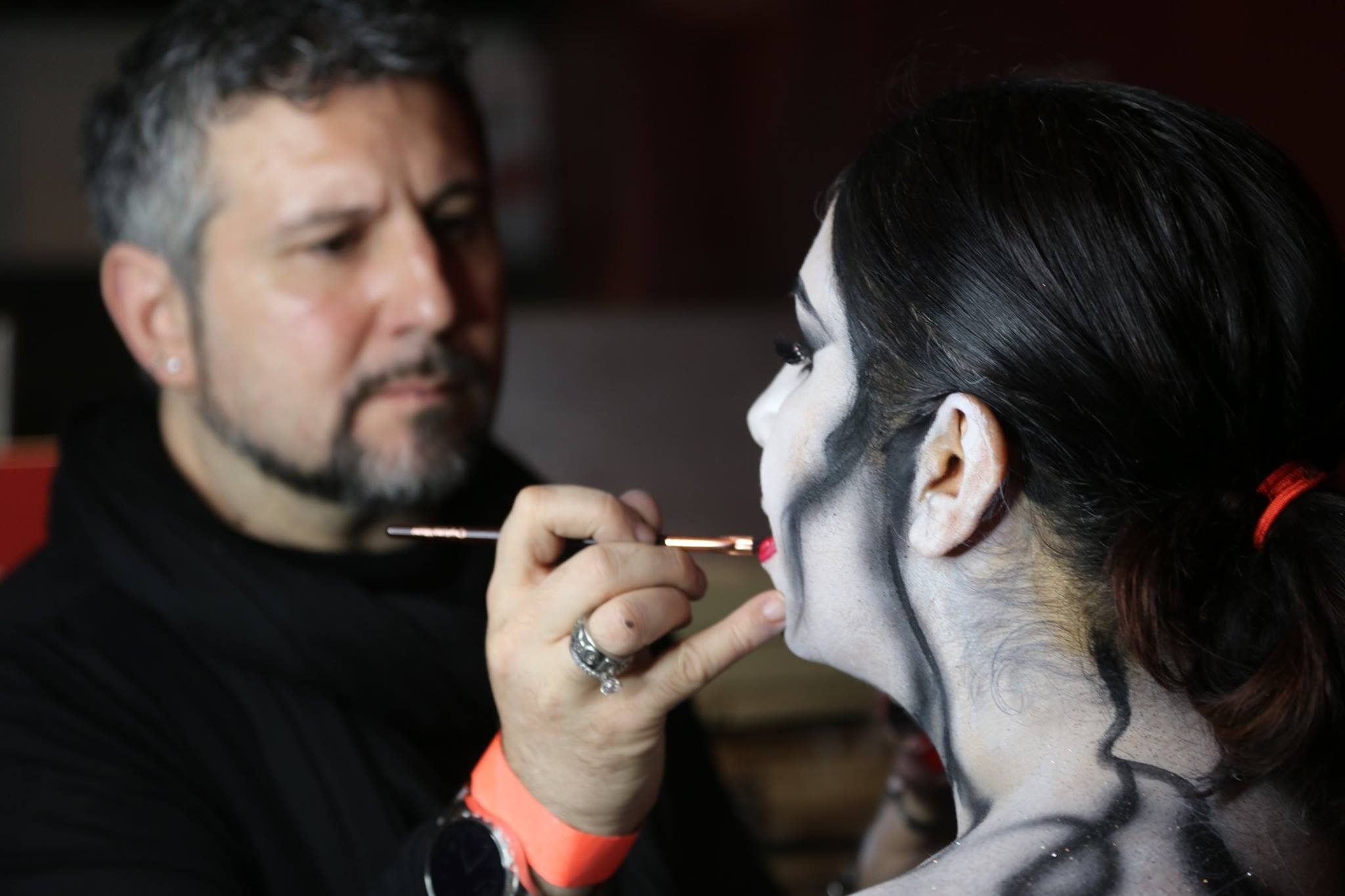 It allows candidates to learn the make-up skills they need, but also understand the role. (Facebook)