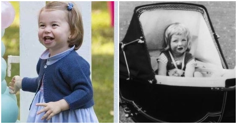 Princess Charlotte and Princess Diana (Instagram/ (Photo by Central Press/Hulton Archive/Getty Images)