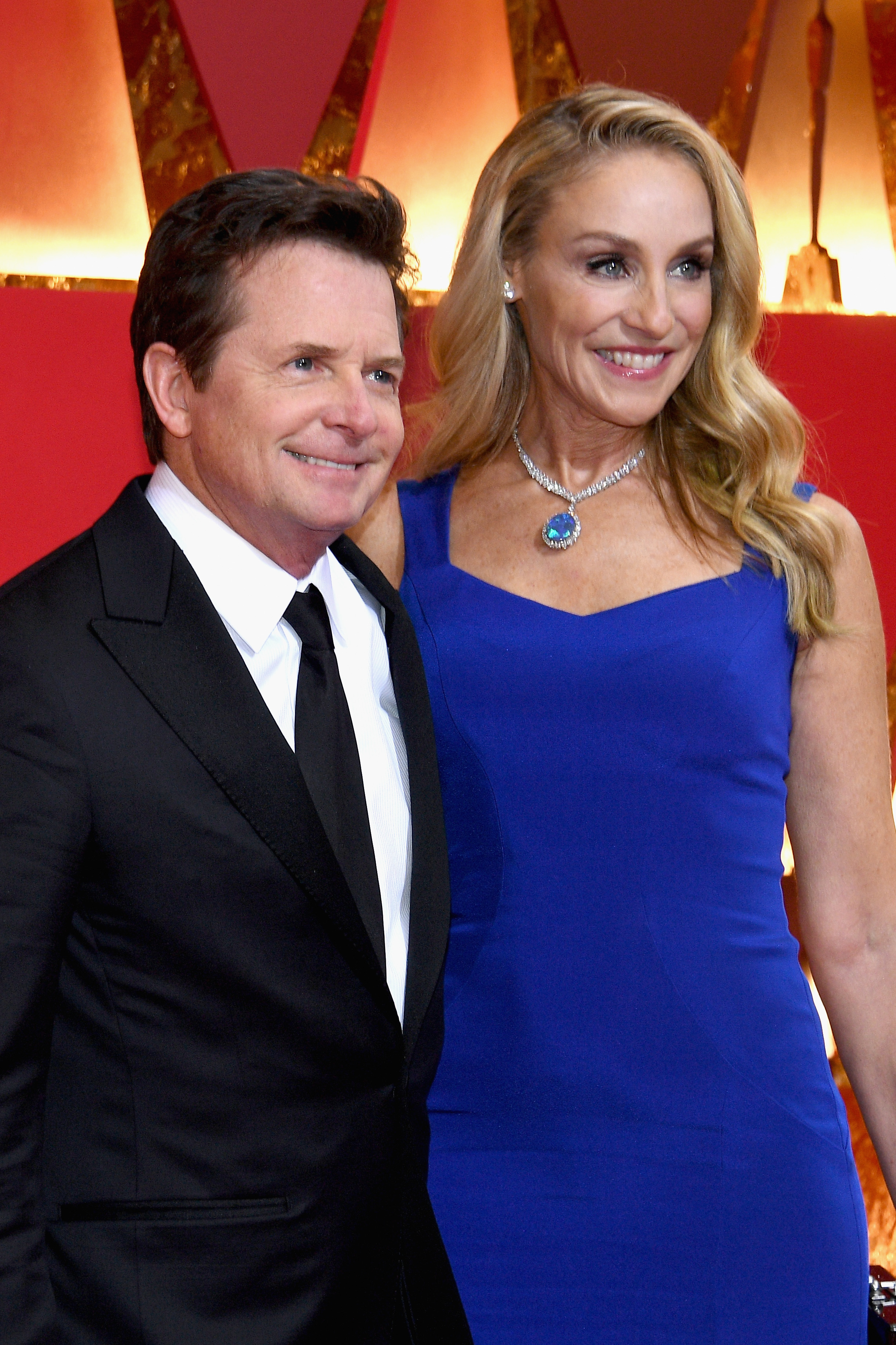 Tracy Pollan and Michael J Fox (Source: Getty Images)