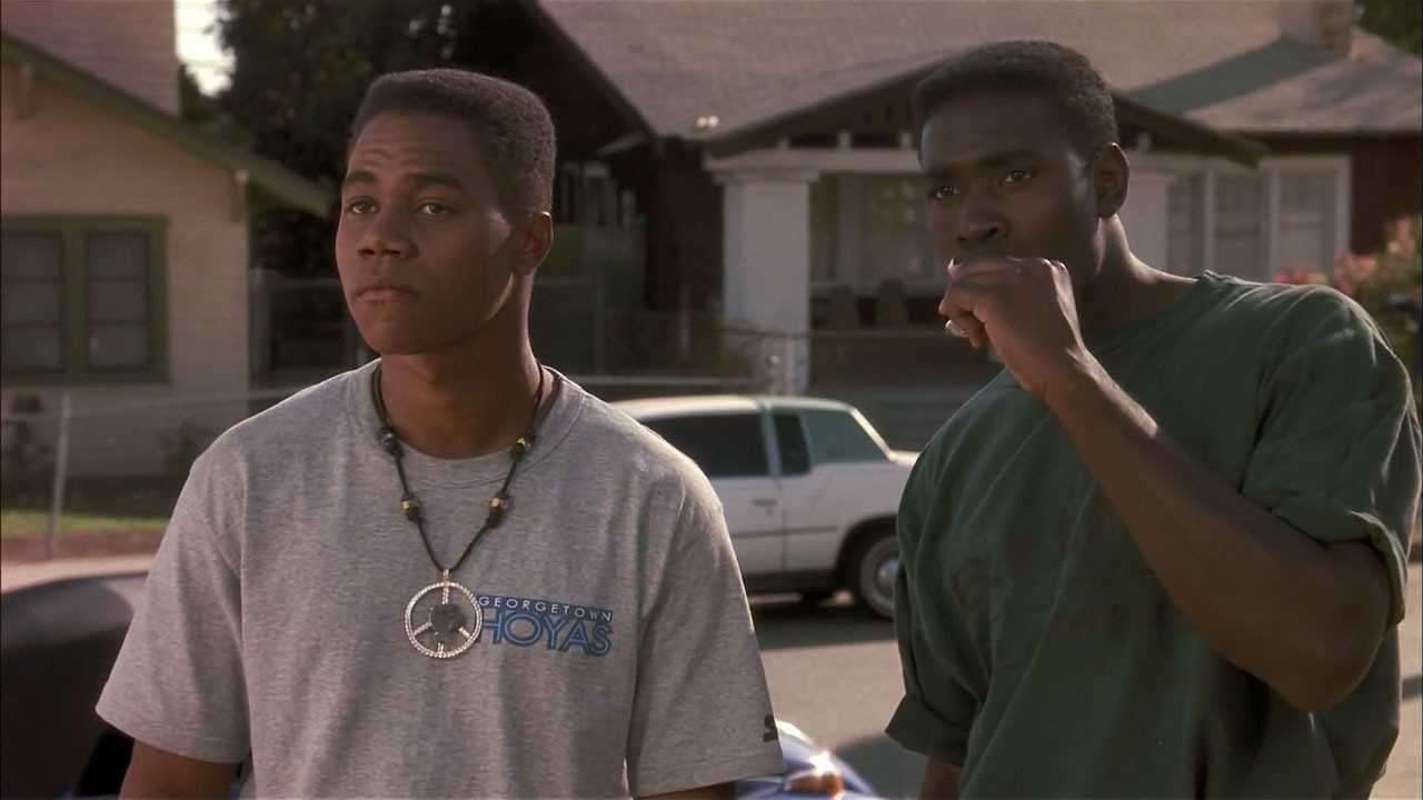 Singleton's 'Boyz n the Hood' told the story of three childhood friends who struggled to cope with the crack epidemic of the 80's. (IMDb)