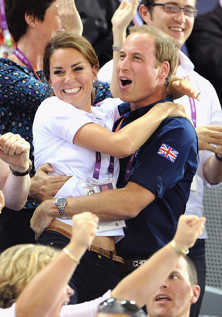 Prince William and Kate Middleton on August 2, 2012 in London (Photo by Pascal Le Segretain/Getty Images)