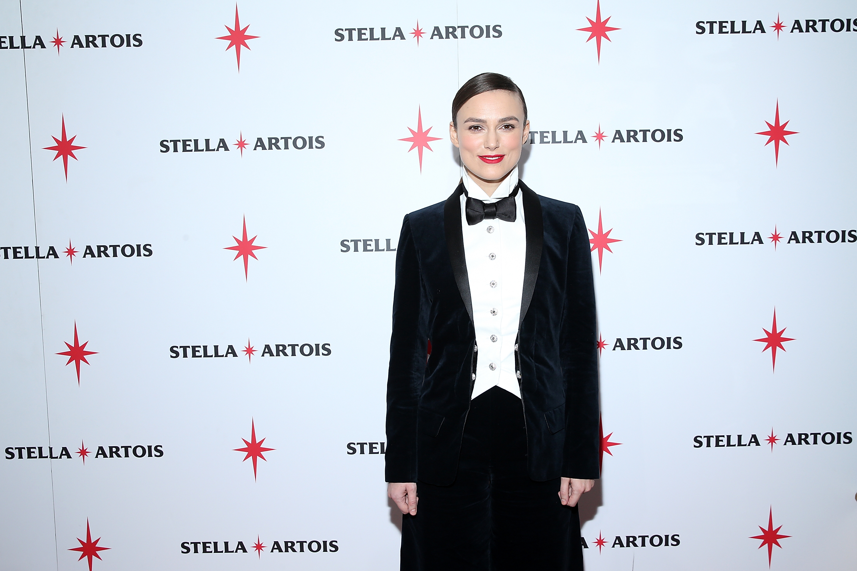 Keira Knightley at the Colette cast party in Cafe Artois during the Sundance Film Festival in Park City, Utah on Saturday, January 20, 2018.