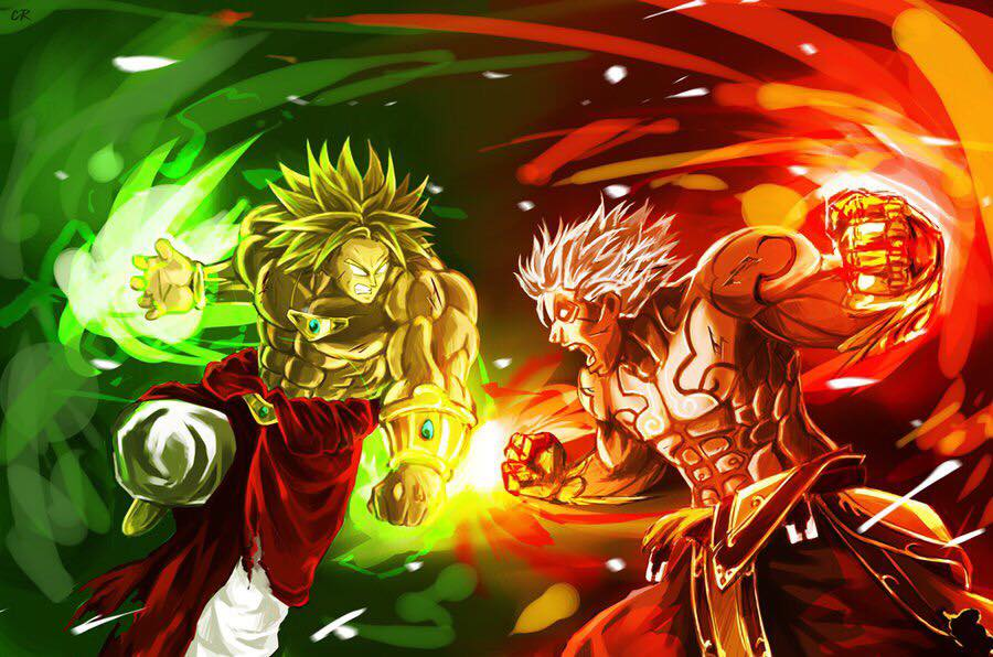 Broly is considered to be the ultimate form of the Super Saiyans. (Facebook)