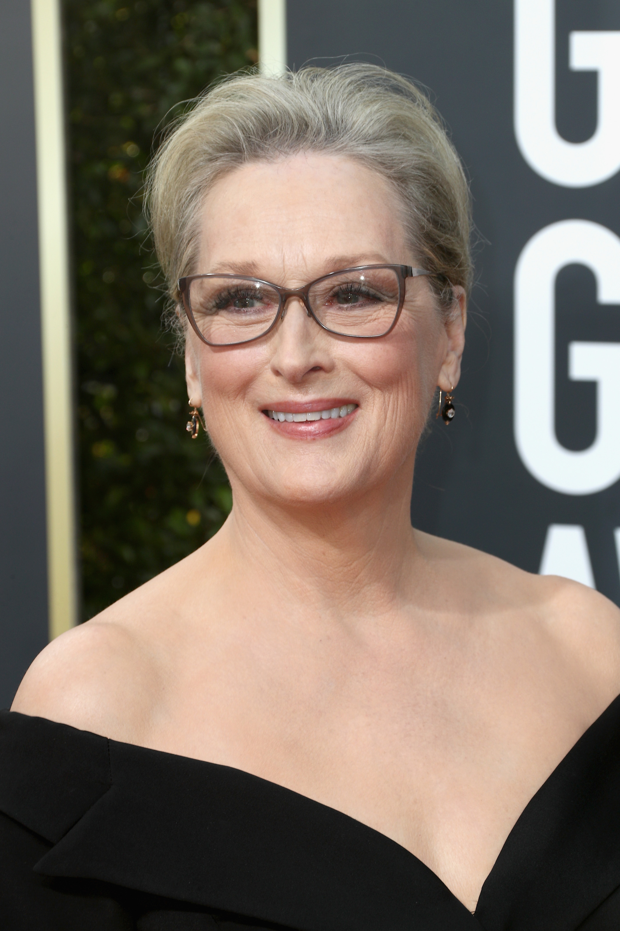 Actor Meryl Streep attends The 75th Annual Golden Globe Awards at The Beverly Hilton Hotel on January 7, 2018 in Beverly Hills, California.
