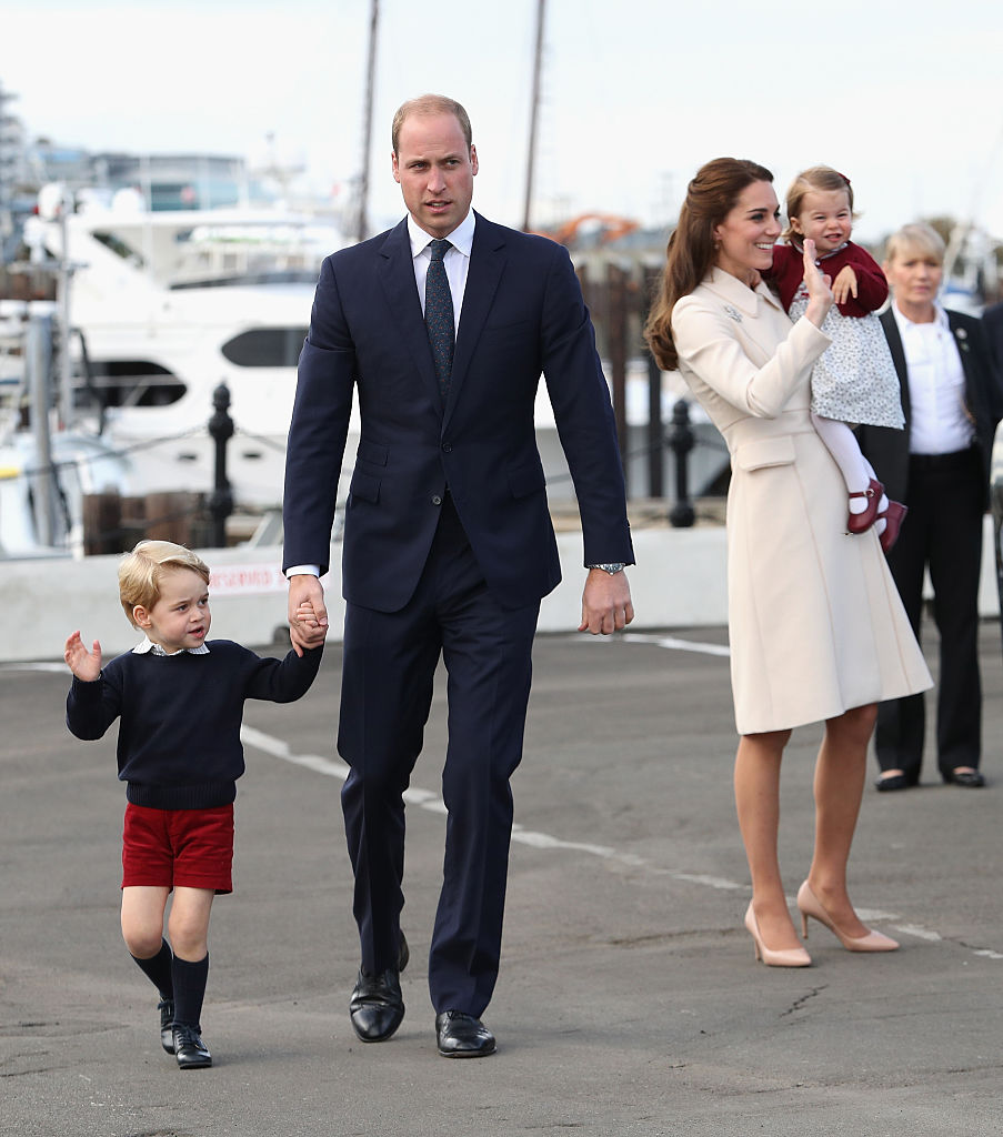 According to a report, William and Kate have also ensured that there will be no dearth of entertainers at their son's fifth birthday party (Photo by Chris Jackson/Getty Images)
