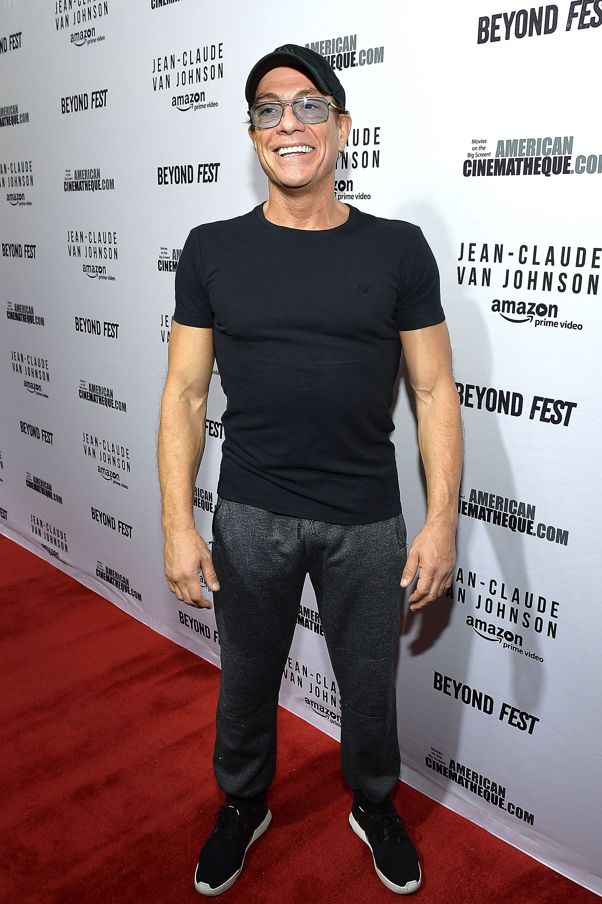 Actor Jean-Claude Van Damme attends the Beyond Fest screening and Cast/Creator panel of Amazon Prime Video's exclusive series 'Jean-Claude Van Johnson' at the Egyptian Theatre on October 9, 2017 in Hollywood, California.