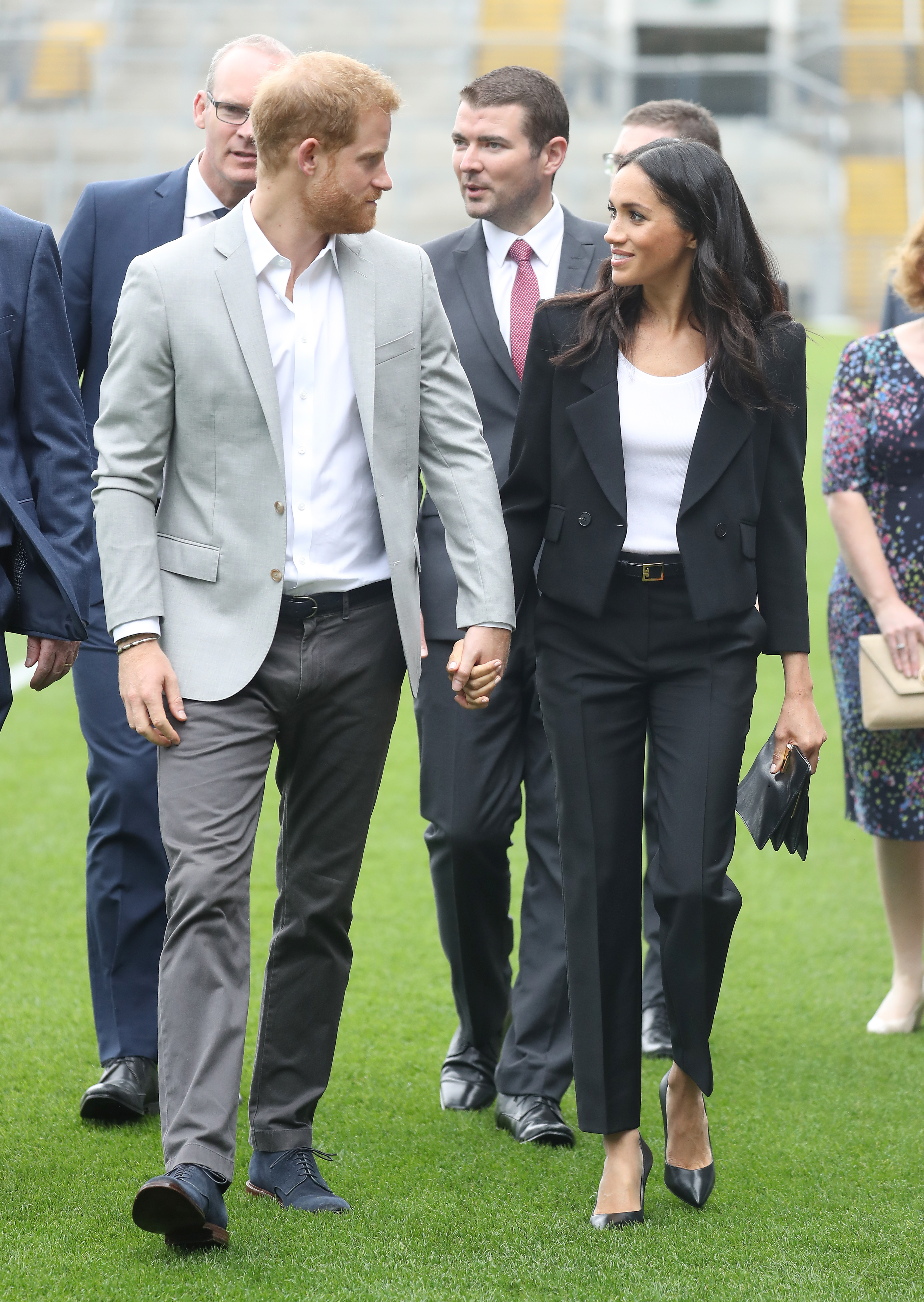 Prince Harry, Duke of Sussex and Meghan, Duchess of Sussex visit Croke Park (Source: Getty Images)