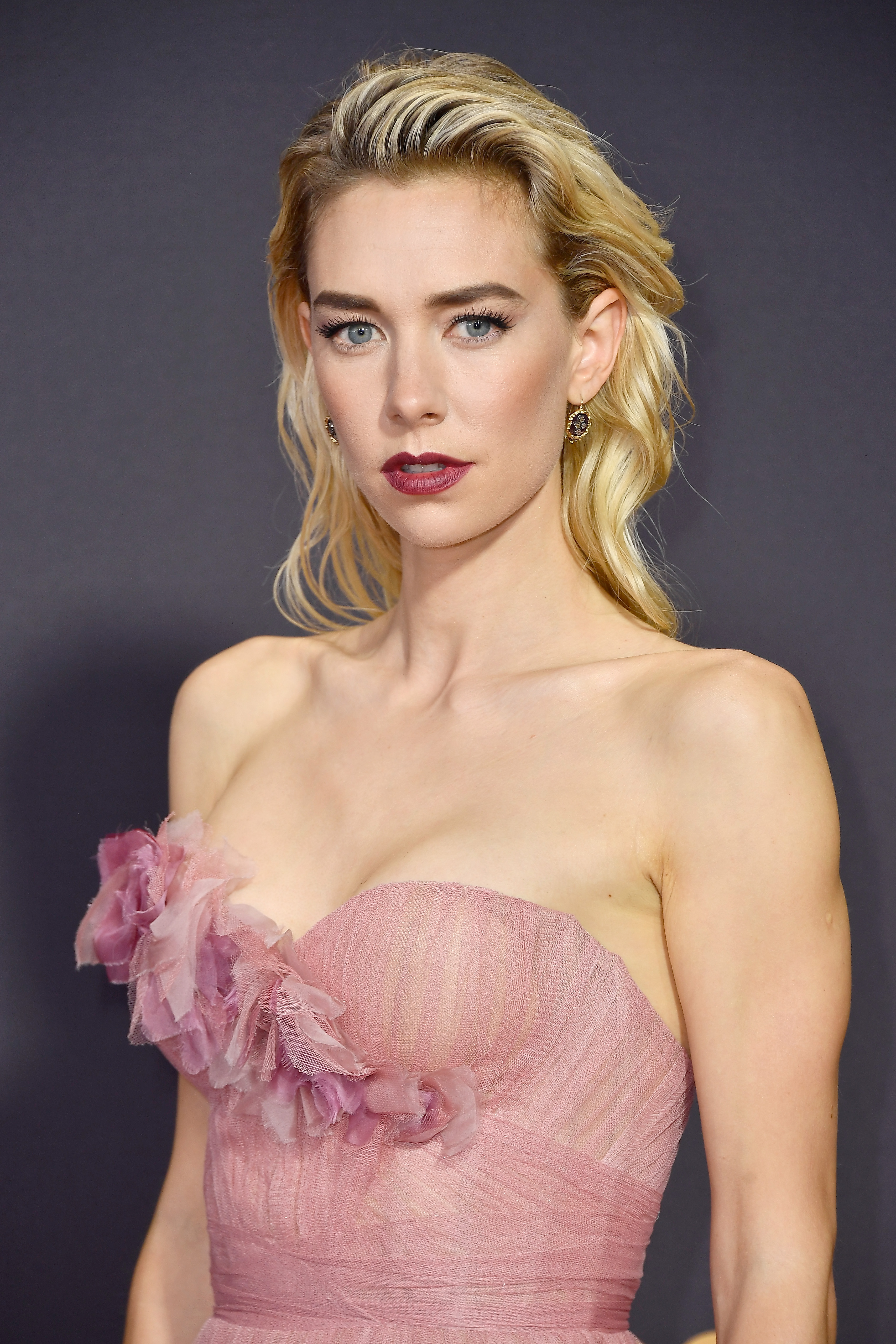 Actor Vanessa Kirby attends the 69th Annual Primetime Emmy Awards at Microsoft Theater on September 17, 2017 in Los Angeles, California.