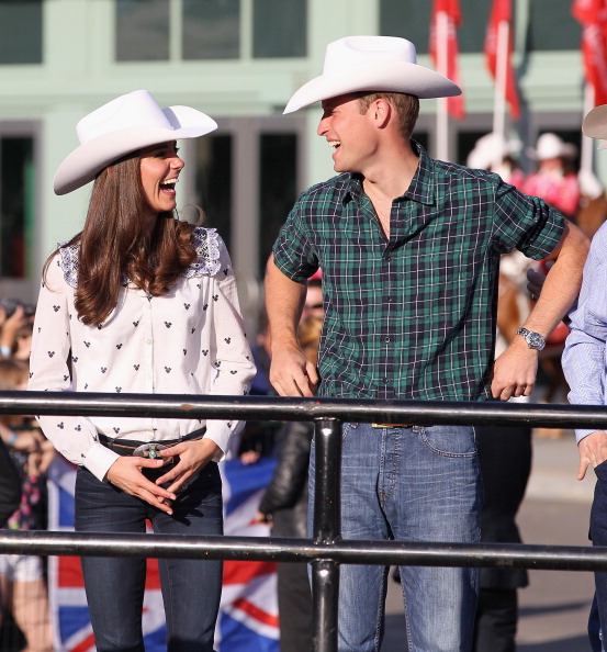 Prince William and Kate Middleton in Calgary, Canada in 2011 (Photo by Chris Jackson/Getty Images)