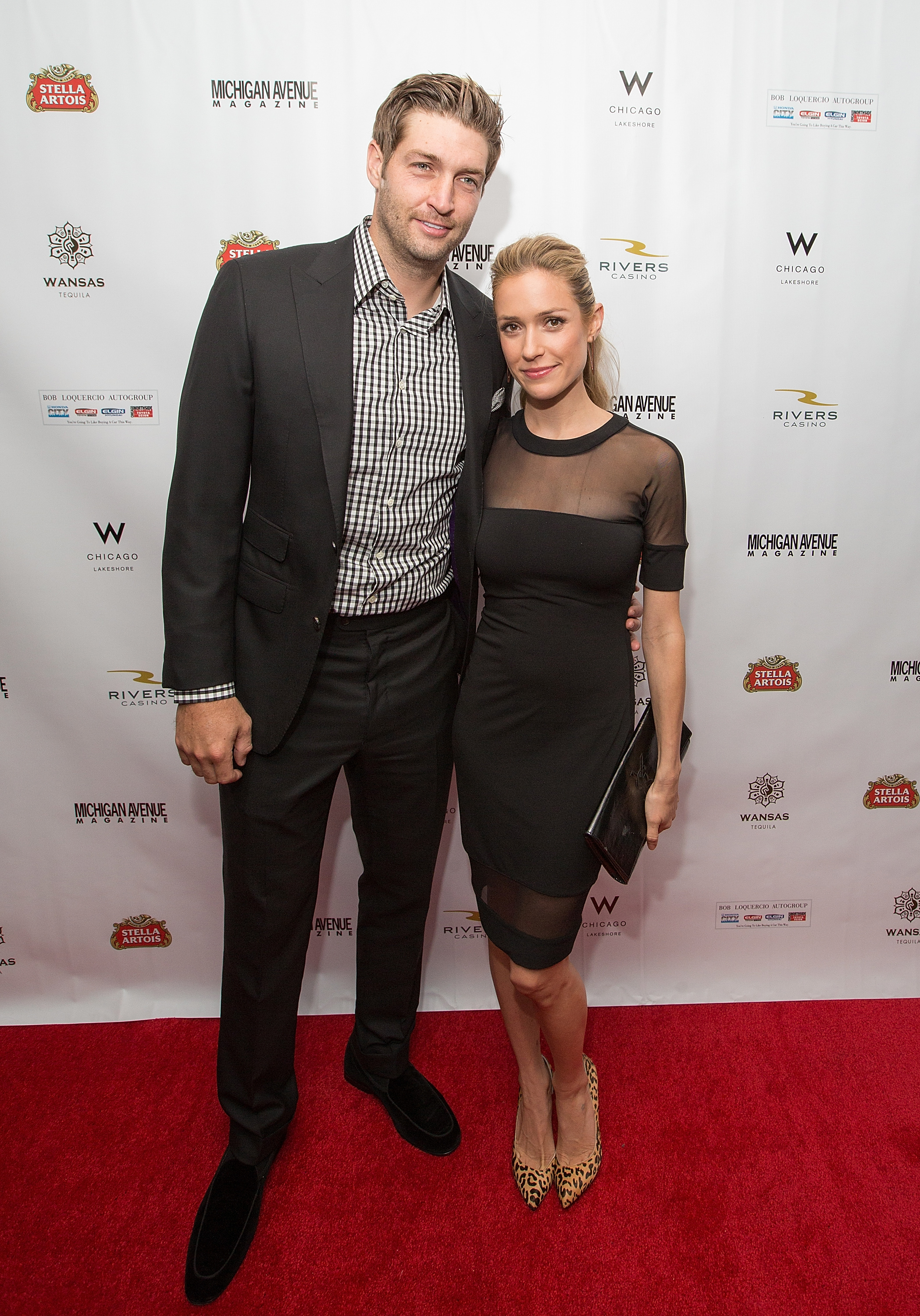 (L-R) Jay Cutler and Kristin Cavallari attend Michigan Avenue Magazine's Fall Fashion Issue Celebration With Kristin Cavallari at W Chicago Lakeshore on September 9, 2014 in Chicago, Illinois. (Getty Images)