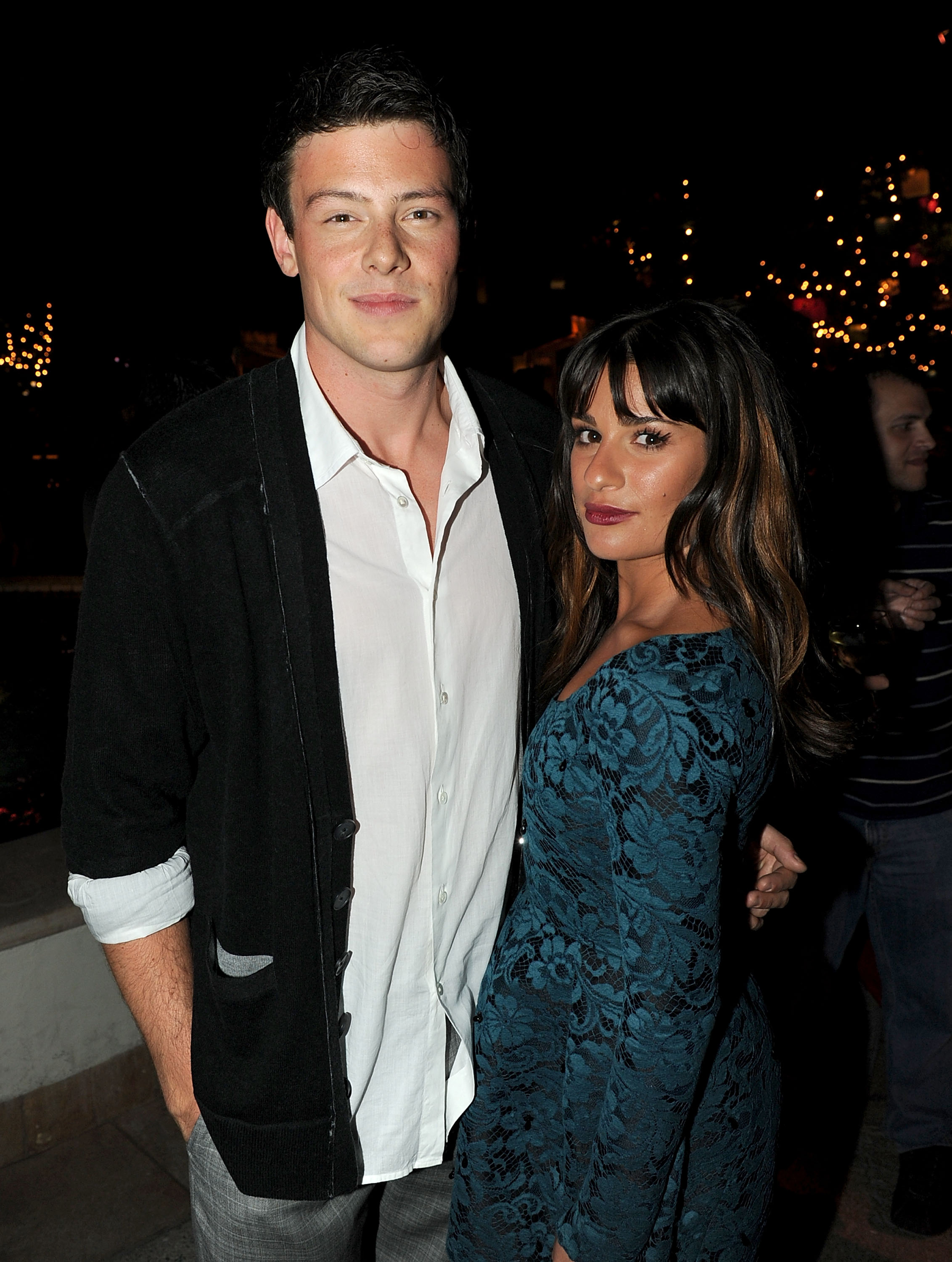 Actors Cory Monteith (L) and Lea Michele attend the premiere of 20th Century Fox's 'Glee' Season 2 held at Paramount Studios on September 7, 2010 in Hollywood, California.