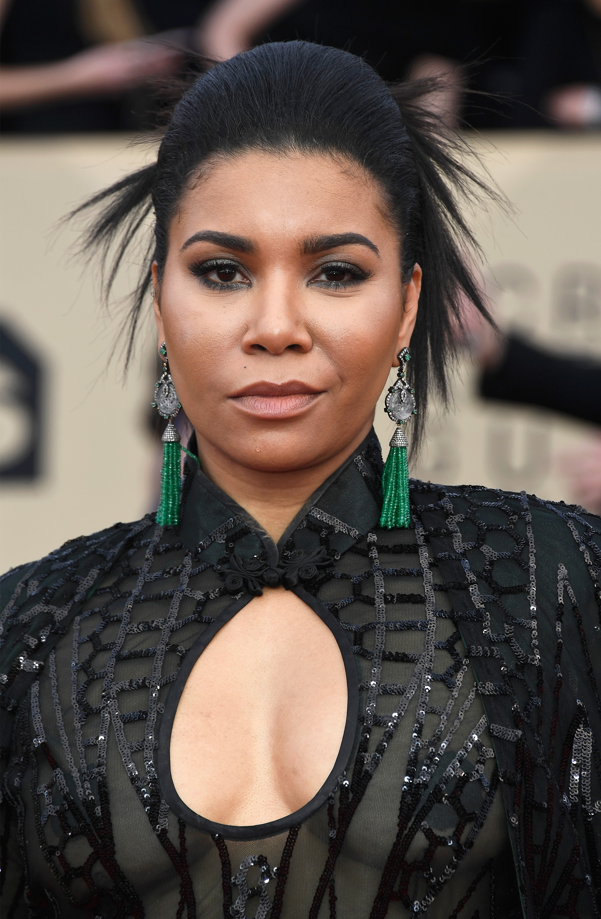 Actor Jessica Pimentel attends the 24th Annual Screen ActorsGuild Awards at The Shrine Auditorium on January 21, 2018 in Los Angeles, California. (Getty Images)