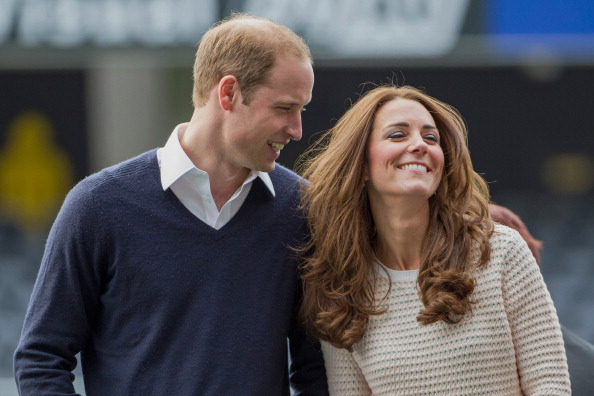 Prince William and Kate Middleton in Dunedin, New Zealand in 2014. (Photo by David Rowland - Pool/Getty Images)