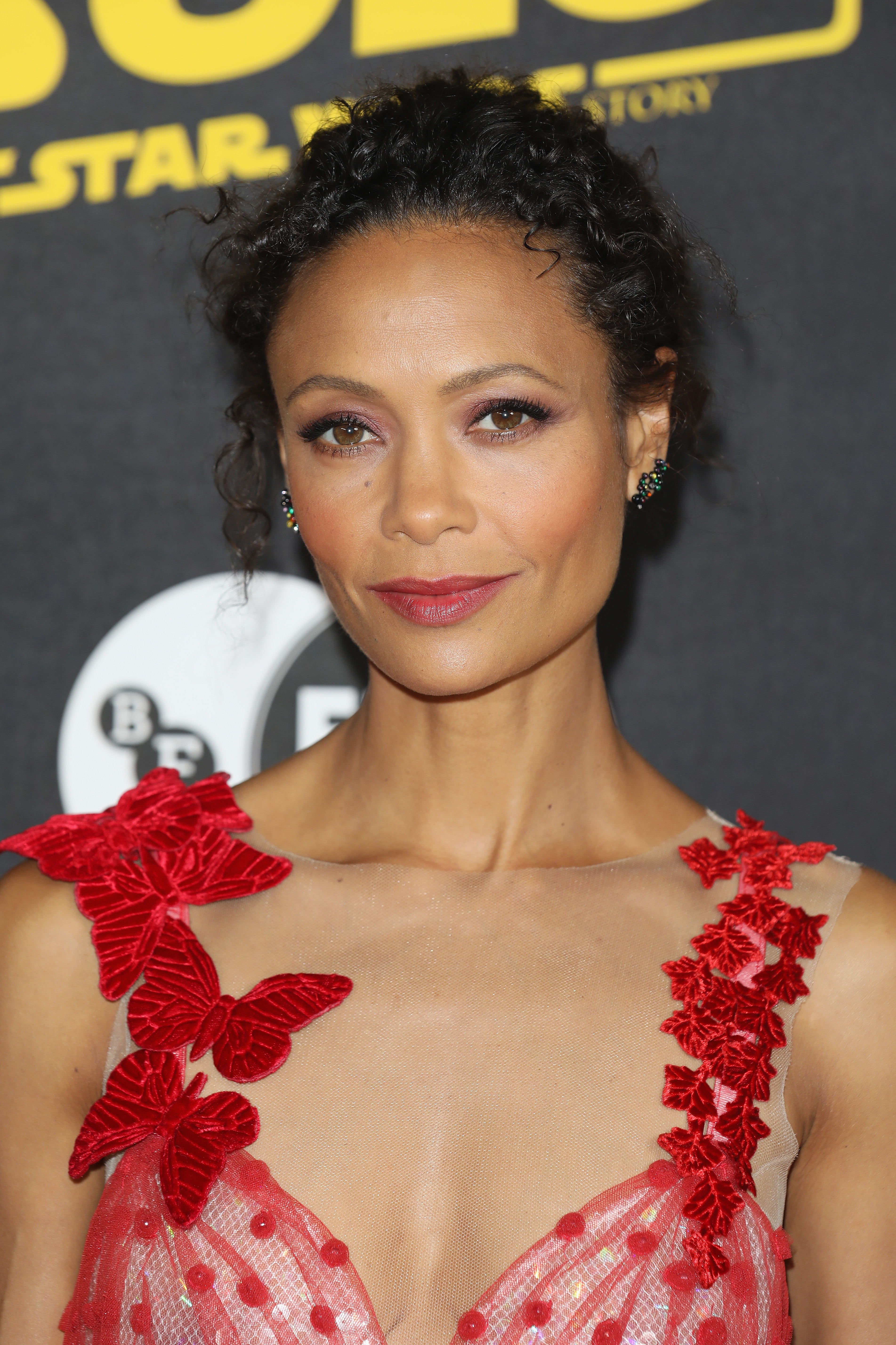 Thandie Newton attends special BFI screening of 'Solo: A Star Wars Story' to celebrate the film's BFI Film Academy trainees at BFI Southbank on May 23, 2018 in London, England.