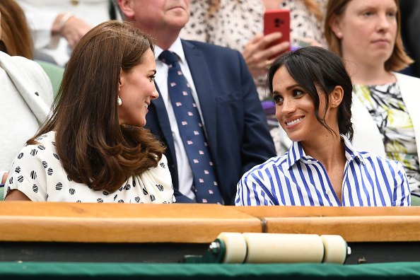 The two now have their seats permanently reserved as royalties (Getty Images)