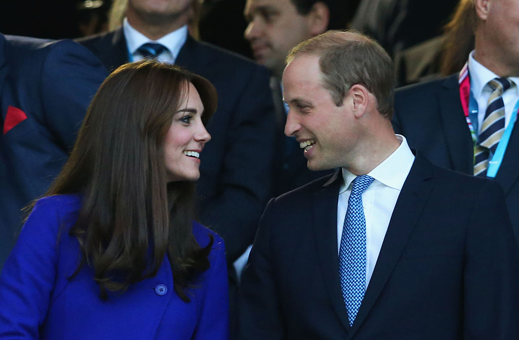 Prince William and Kate Middleton on September 18, 2015 in London (Photo by David Rogers/Getty Images)